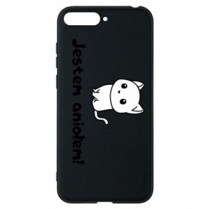 Phone case for Huawei Y6 2018 I'm an angel! Or the devil ... - PrintSalon