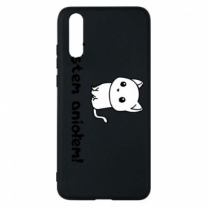 Phone case for Huawei P20 I'm an angel! Or the devil ... - PrintSalon