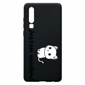 Phone case for Huawei P30 I'm an angel! Or the devil ... - PrintSalon