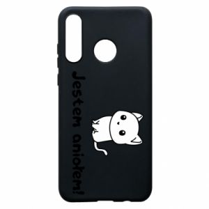 Huawei P30 Lite Case I'm an angel! Or the devil ...