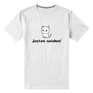 Men's premium t-shirt I'm an angel! Or the devil ... - PrintSalon
