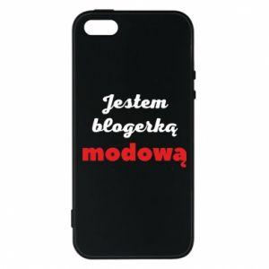 Phone case for iPhone 5/5S/SE I am a blogger - PrintSalon