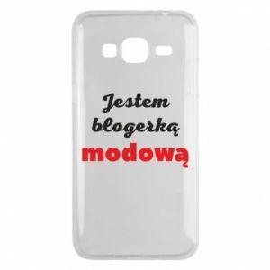 Phone case for Samsung J3 2016 I am a blogger - PrintSalon