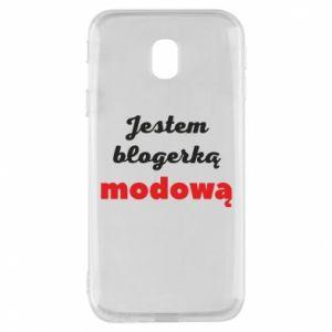 Phone case for Samsung J3 2017 I am a blogger - PrintSalon