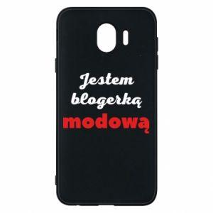 Phone case for Samsung J4 I am a blogger - PrintSalon