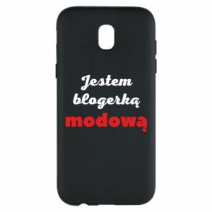Phone case for Samsung J5 2017 I am a blogger - PrintSalon