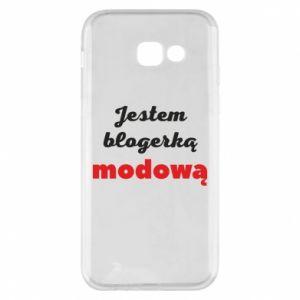 Phone case for Samsung A5 2017 I am a blogger - PrintSalon