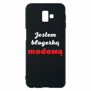 Phone case for Samsung J6 Plus 2018 I am a blogger - PrintSalon