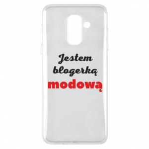 Phone case for Samsung A6+ 2018 I am a blogger - PrintSalon