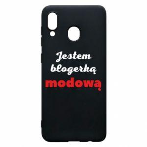 Phone case for Samsung A20 I am a blogger - PrintSalon