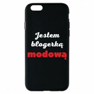 Phone case for iPhone 6/6S I am a blogger - PrintSalon