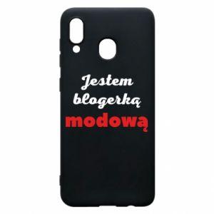 Phone case for Samsung A30 I am a blogger - PrintSalon