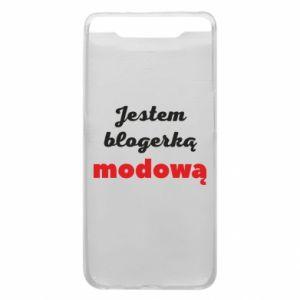 Phone case for Samsung A80 I am a blogger - PrintSalon