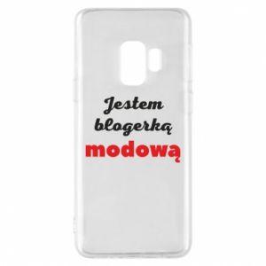 Phone case for Samsung S9 I am a blogger - PrintSalon