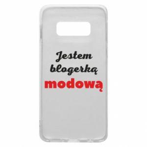 Phone case for Samsung S10e I am a blogger - PrintSalon