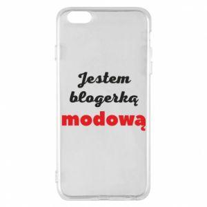 Phone case for iPhone 6 Plus/6S Plus I am a blogger - PrintSalon