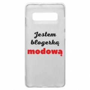 Phone case for Samsung S10+ I am a blogger - PrintSalon