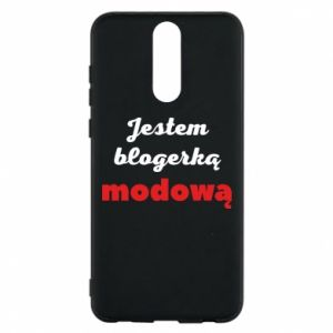Phone case for Huawei Mate 10 Lite I am a blogger - PrintSalon