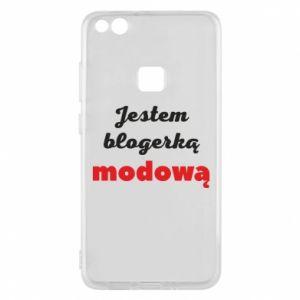 Phone case for Huawei P10 Lite I am a blogger - PrintSalon