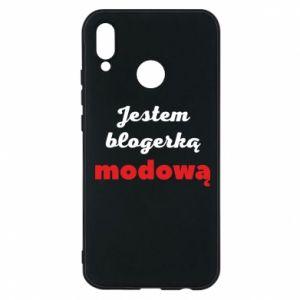 Phone case for Huawei P20 Lite I am a blogger - PrintSalon