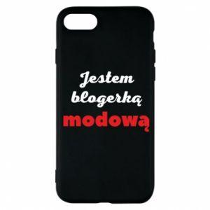 Phone case for iPhone 7 I am a blogger - PrintSalon