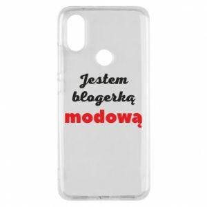 Phone case for Xiaomi Mi A2 I am a blogger - PrintSalon