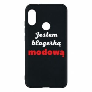 Phone case for Mi A2 Lite I am a blogger - PrintSalon