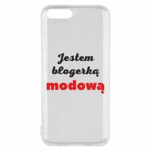 Phone case for Xiaomi Mi6 I am a blogger - PrintSalon