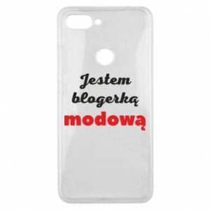 Phone case for Xiaomi Mi8 Lite I am a blogger - PrintSalon