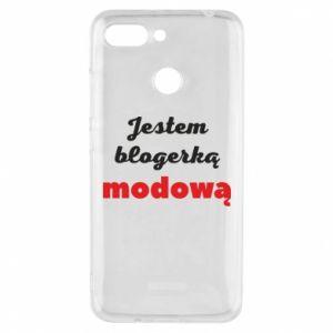 Phone case for Xiaomi Redmi 6 I am a blogger - PrintSalon