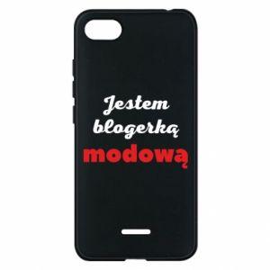 Phone case for Xiaomi Redmi 6A I am a blogger - PrintSalon