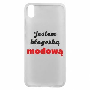 Phone case for Xiaomi Redmi 7A I am a blogger - PrintSalon