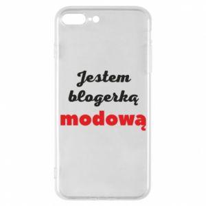 Phone case for iPhone 7 Plus I am a blogger - PrintSalon