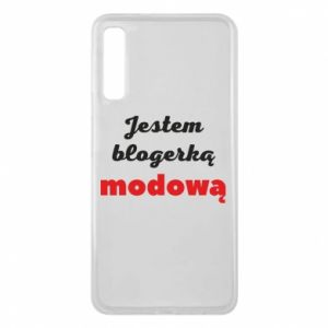 Phone case for Samsung A7 2018 I am a blogger - PrintSalon