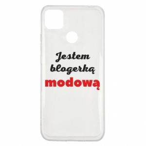 Etui na Xiaomi Redmi 9c Jestem blogerem modową