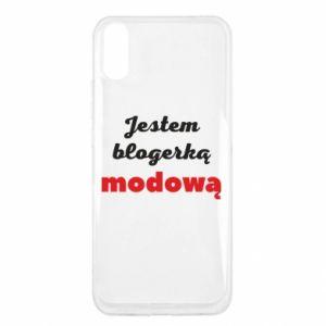 Etui na Xiaomi Redmi 9a Jestem blogerem modową