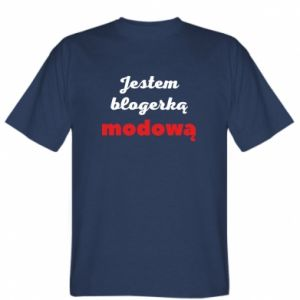 Koszulka Jestem blogerem modową