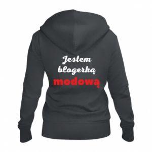 Women's zip up hoodies I am a blogger - PrintSalon