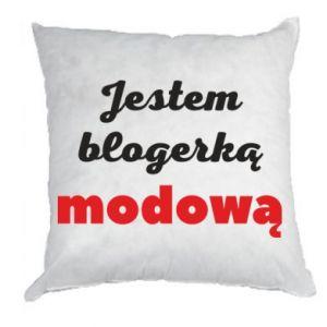 Pillow I am a blogger - PrintSalon