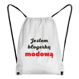 Backpack-bag I am a blogger - PrintSalon