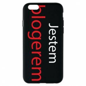 Phone case for iPhone 6/6S I'm bloger - PrintSalon
