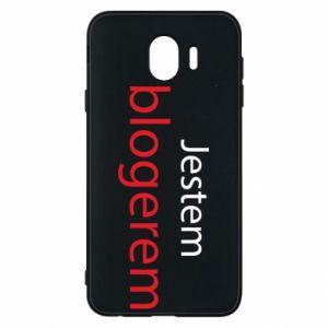 Phone case for Samsung J4 I'm bloger - PrintSalon