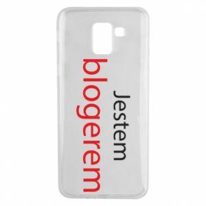 Phone case for Samsung J6 I'm bloger - PrintSalon