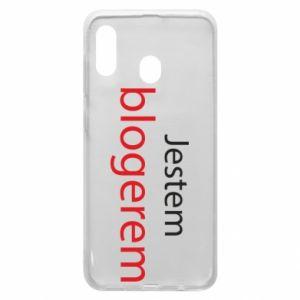 Phone case for Samsung A30 I'm bloger - PrintSalon