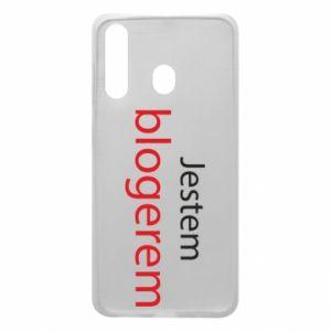 Phone case for Samsung A60 I'm bloger - PrintSalon
