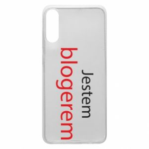 Phone case for Samsung A70 I'm bloger - PrintSalon