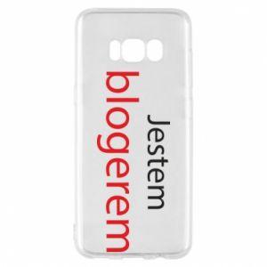 Phone case for Samsung S8 I'm bloger - PrintSalon