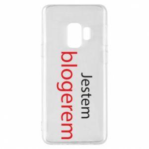 Phone case for Samsung S9 I'm bloger - PrintSalon