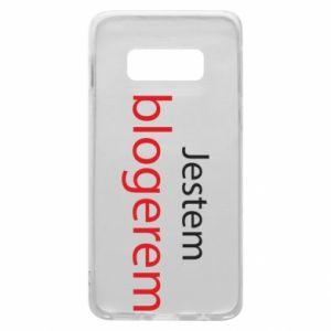 Phone case for Samsung S10e I'm bloger - PrintSalon