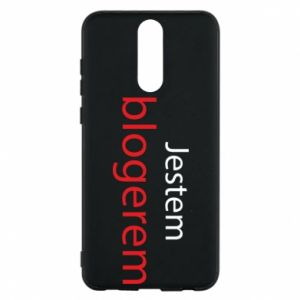 Phone case for Huawei Mate 10 Lite I'm bloger - PrintSalon